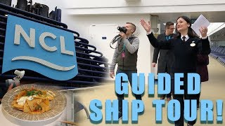 Norwegian Breakaway FULL Guided Ship Tour! | CHRISTMAS SPECIAL 2017