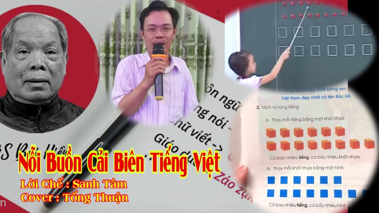 Nhạc Chế : Nỗi Buồn Tiếng Việt | Nghe Đau Lòng Quá - Tống Thuận