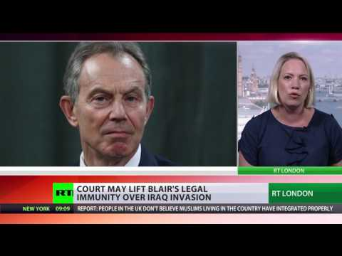 Tony Blair should be prosecuted for Iraq War, high court hears