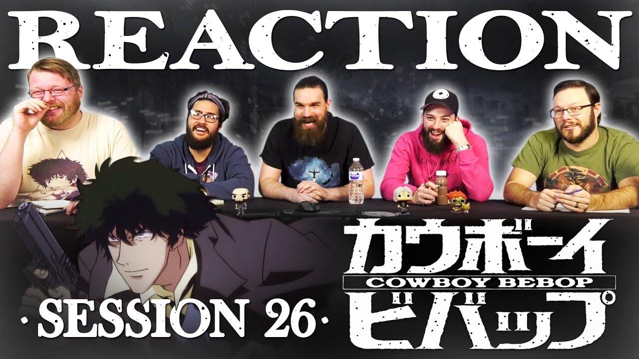 "Download Cowboy Bebop #26 FINALE REACTION!! ""The Real Folk Blues (Part 2)"""