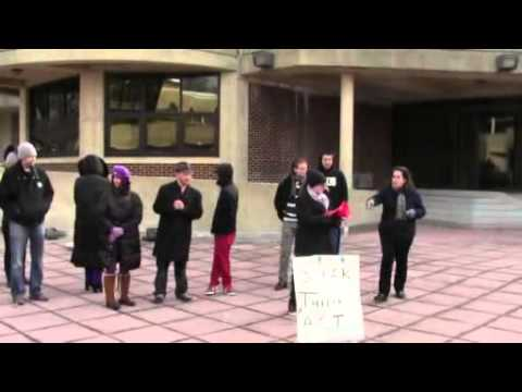 Die-In and Speak Out At Raritan Valley Community College December 11, 2014