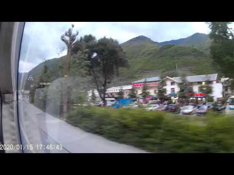 Jiuzhaigou 1-5 May 2015 Part 5 ( Chengdu - Jiuzhaigou )