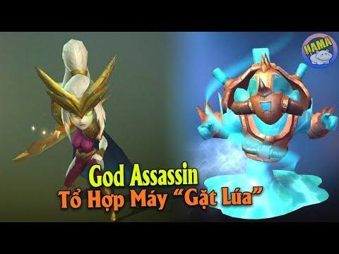 Auto Chess Mobile - God Assassin Những Cú