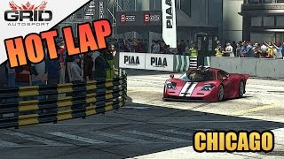 Grid Autosport Gameplay - Hot Lap (World Record) - McLaren F1 GT - Chicago Underpass Ring