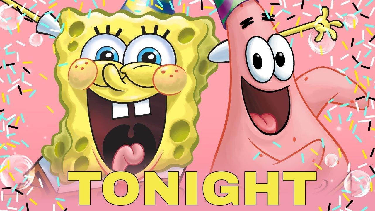 "Watch: The first ""SpongeBob SquarePants' Big Birthday Blowout"