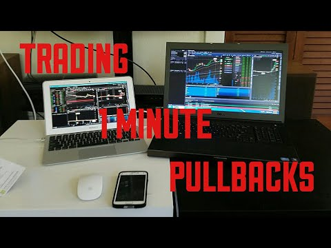 How To Trade Stocks ( 1 Minute Pull Backs)
