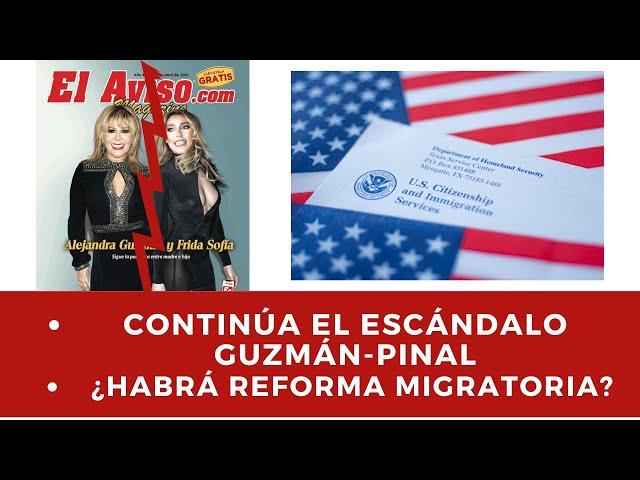 Lo último del escándalo : Frida Sofia, Alejandra Guzman, noticias de Luis Miguel, Adam Toledo y Más