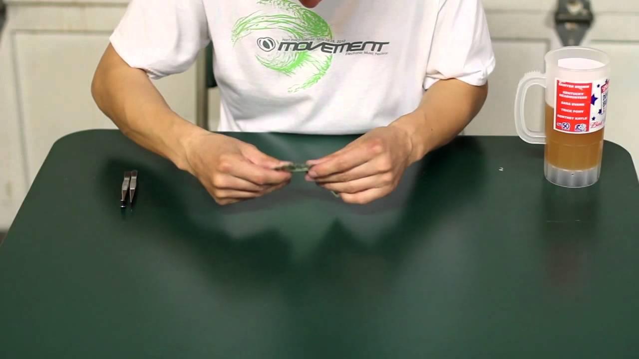 Speed Folding Dollar Koi Fish Youtube