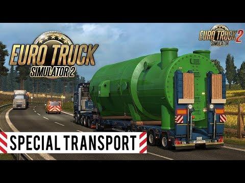 Euro Truck Simulator 2 | DLC Special Transport | Que pasada