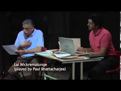 Iceandfire On the Record Lal Wickrematunge and Lasantha Wickrematunge