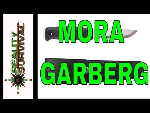 Mora Garberg Full Tang Knife Review: #ShotShow2016