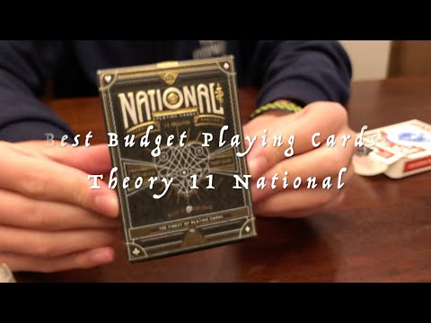 Best Budget Playing Cards: Theory 11