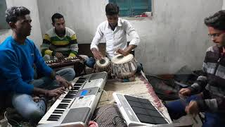 are re meri jaan hai radha tere pe kurban /cover with tabla hermonium