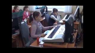 Слушание музыки. Контрольный урок II четверти 1 класса.