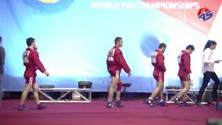 World Youth & Junior Sambo Championships 2017. Opening Ceremony & Day 1. Finals