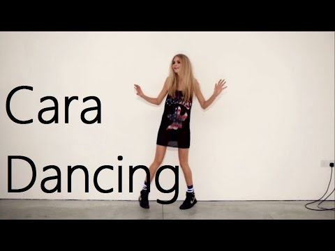 Cara Delevingne Dancing