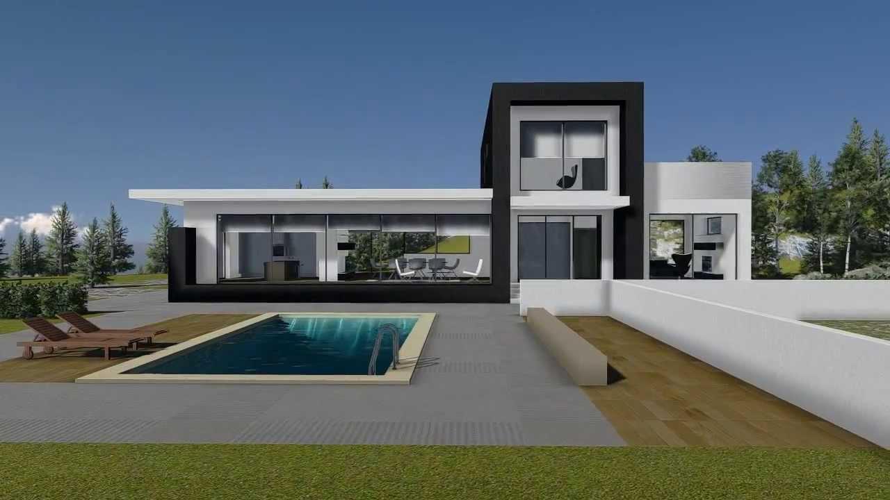 Villa unifamiliare classe a in acciaio leggero condino for Progetto villa moderna