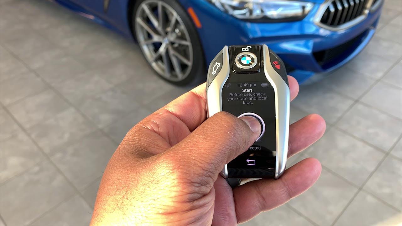 How to: Remote Start with display key BMW M850i, BMW X7, BMW 740i, BMW 750i