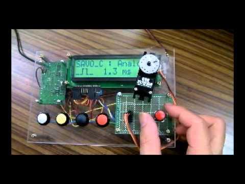 GWS社ロボット用サーボモータ「S35 STD」の動作
