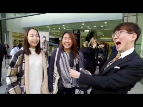 Yiruma Fans Street Interview