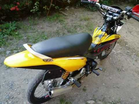 honda xrm 125 motard 2012 transformation from old to bUmBle bEe
