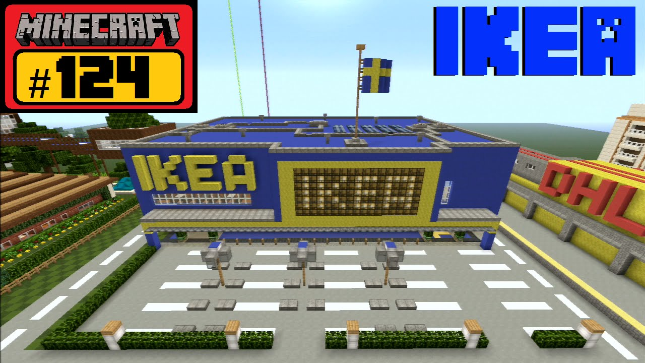 Regal Bauen Minecraft Minecraft Let S Build 124 Ikea Let S Play Deutsch