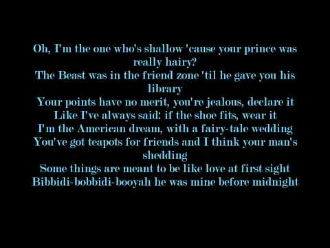 Cinderella VS. Belle Rap Battle Lyrics