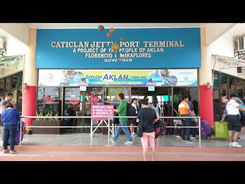 Boracay island to Kalibo airport Van transfer |A must watch video|