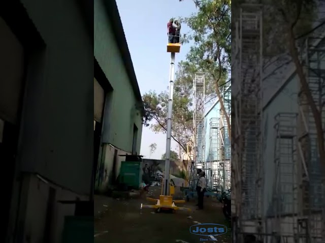 Single Mast Vertical Lift