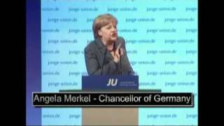 Rt Hon Chancellor Angela Merkel re-asserts German Nationalism