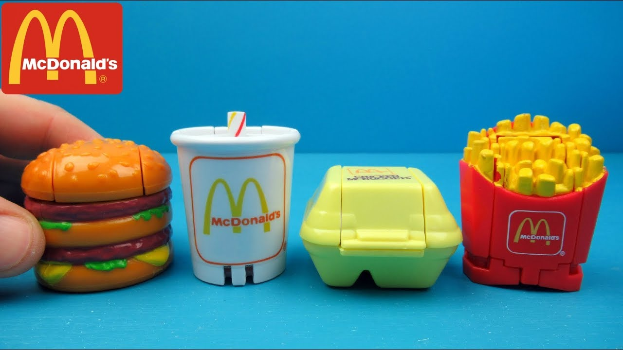 McDonalds Happy Meal Toys Unboxing