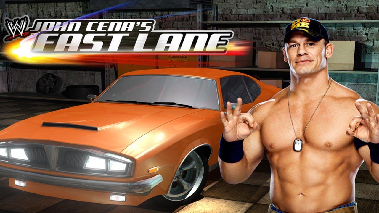 Wwe Presents John Cena S Fast Lane Universal Hd Gameplay