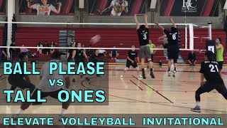 Ball Please vs Tall Ones (Playoffs, Match 1) - Elevate Invitational Volleyball Tournament 2018