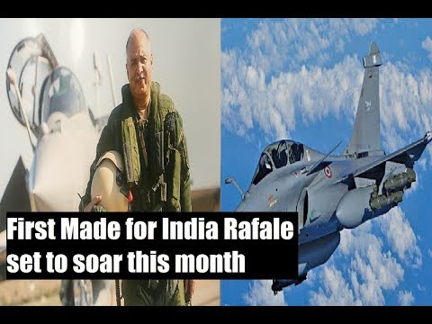 First Made for India Rafale set to soar this month