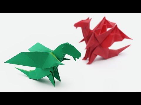 Origami Chibi Dragon-Jo Nakashima