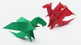 Origami Chibi Dragon (Jo Nakashima) - Dragon #5