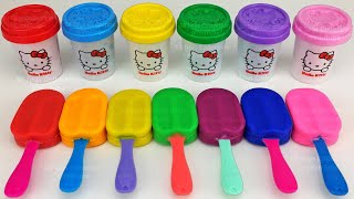 Learn Colors with 7 Color Play Doh and Farm Animals Molds | Surprise Toys Yowie Surprise Eggs