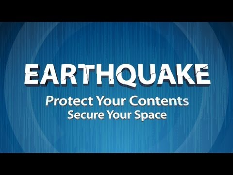 Earthquake: Protect Your Contents, Secure Your Space