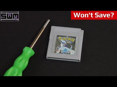 Pokemon Silver Doesnt Save, Lets Fix That!  Tech Wave!