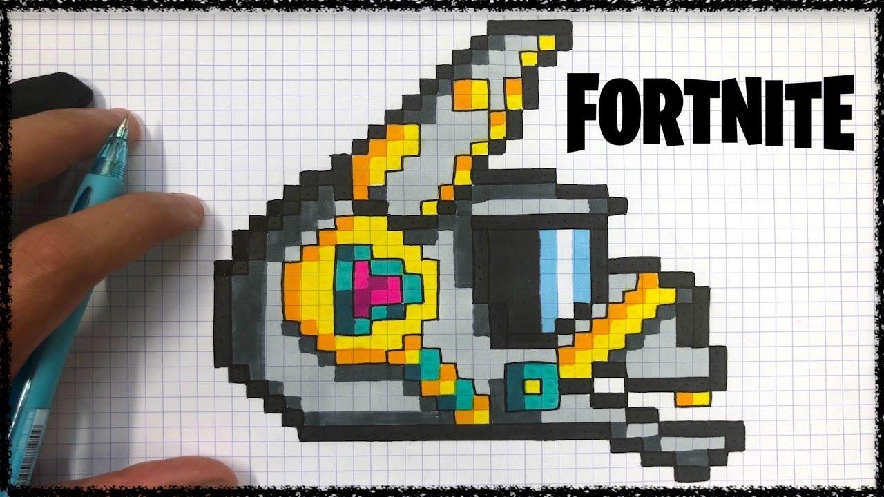 Image Pixel Art Fortnite Skin