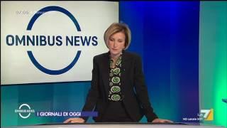 Omnibus News (Puntata 09/01/2017)