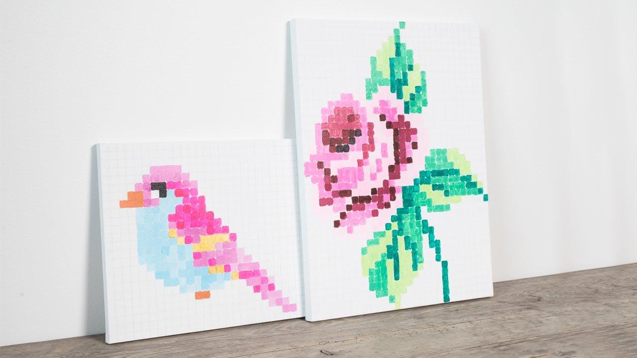 Diy Paint Artwork For Your Home By Søstrene Grene