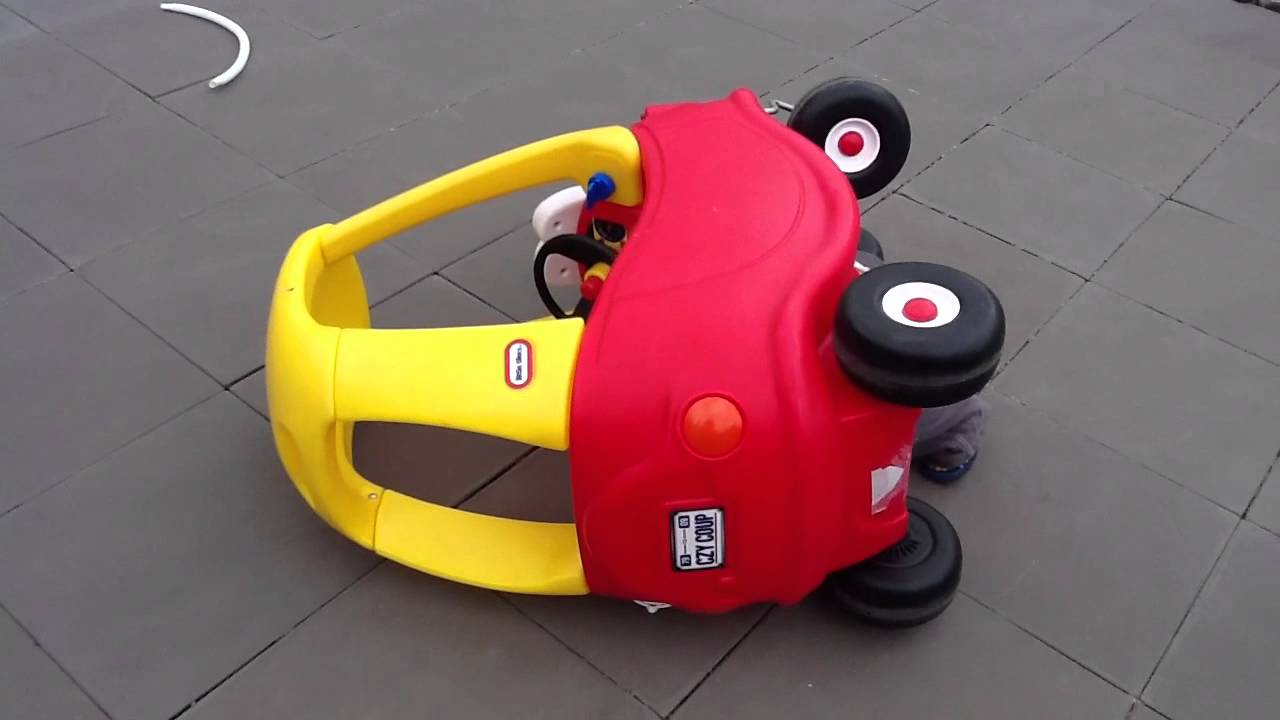 Little Tikes Cozy Coupe Car Crash