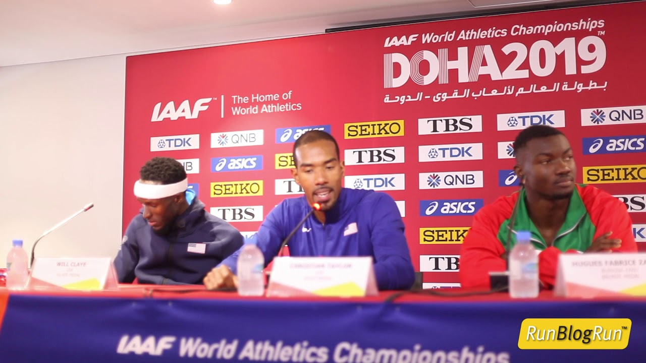 Doha WC 2019 - Men's Triple Jump Final Press Conference