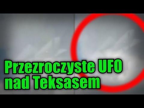 Nad Teksasem sfotografowano niesamowite, przezroczyste UFO