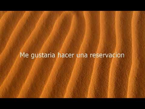 How to say I'd Like To Make A Reservation in Spanish