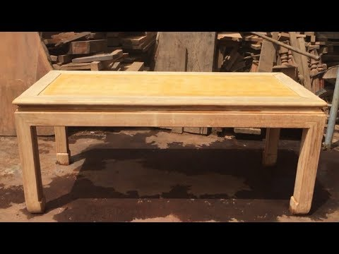 How To Build A Dining Table Modern - Woodworking Skills Extremely Excellent Carpenter