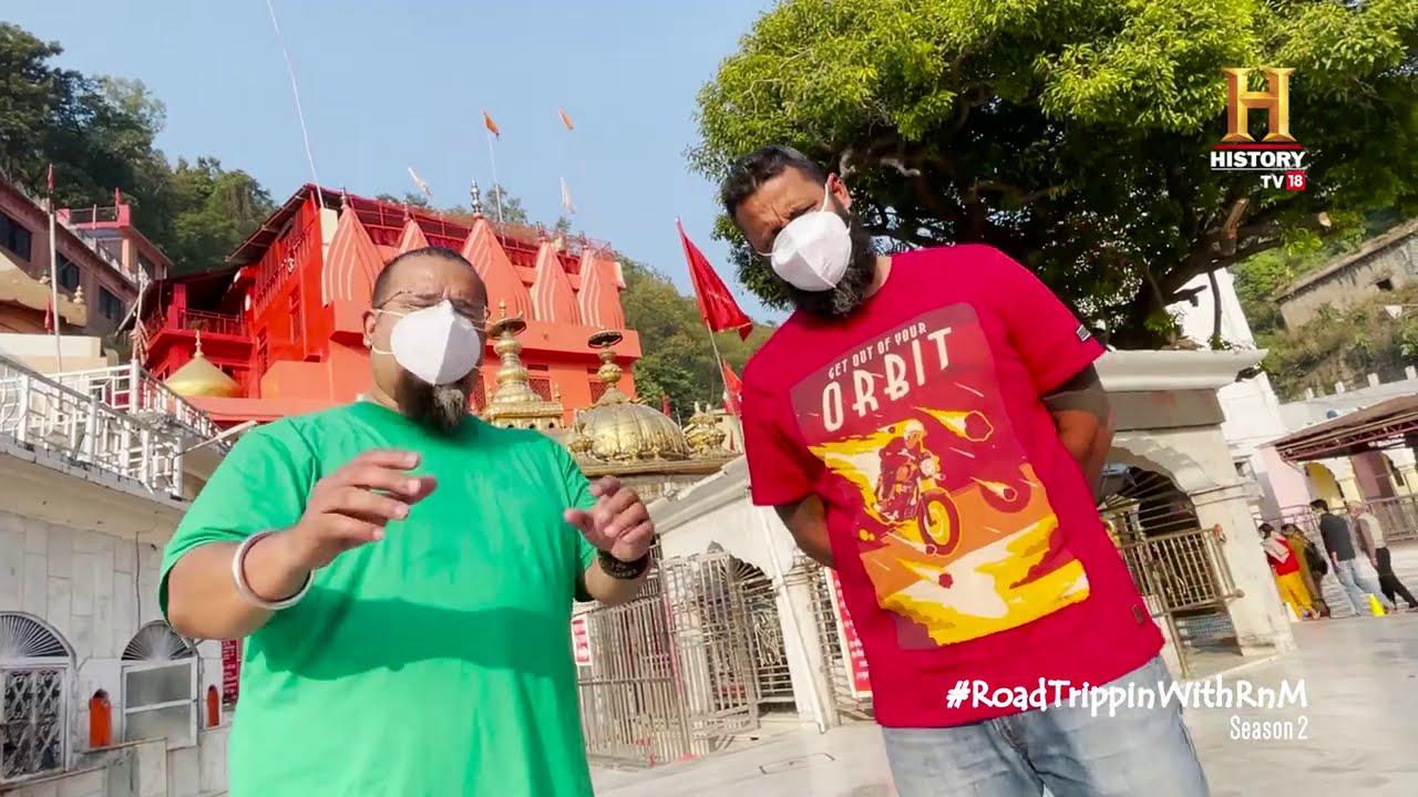 #RoadTrippinwithRnM S2   Day 12   Vlog 04   Rocky Mayur   Jwalamukhi Temple   Kangra