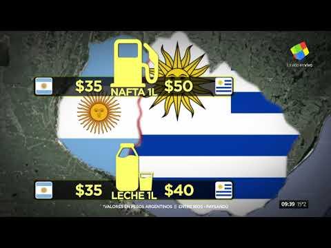 Unos diez mil uruguayos cruzaron a la Argentina a cargar nafta y hacer compras