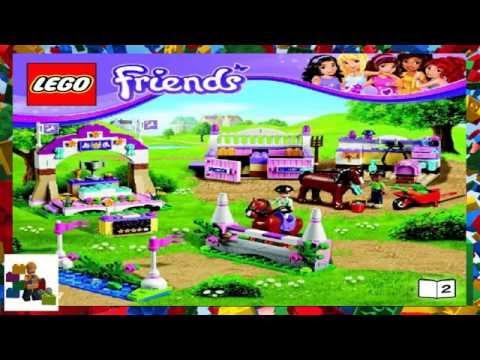 Lego Instructions Lego Friends 41125 Horse Vet Trailer Book 1 Mp3